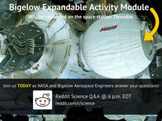 Bigelow Aerospace, Nasa Images, Aerospace Engineering, Space Station, Science, Activities, This Or That Questions, Engineers, Join