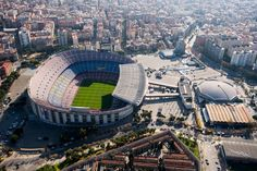 The competition for the design of the Nou Camp Nou (new new stadium) of F. Barcelona has been keeping busy the most important Catalan architects and some of the world wide famous architecture offices. Famous Architecture, Architecture Office, Camp Nou, Gate, Competition, Barcelona, Clouds, World, Travel