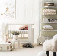 Quarto de bebê total white