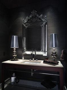 Powder room - Habachy Designs