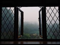 Quaint cottage window