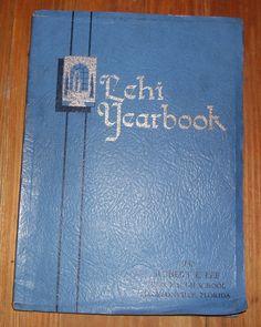 1932 LEE HIGH SCHOOL Jacksonville Florida YEARBOOK Robert E. Lee High School