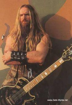 Zakk Wylde...Black Label Society...love this viking!