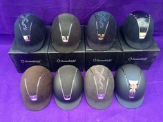A selection of our Samshield Hats in stock at www.dressagedeluxe.co.uk