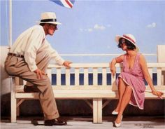 Mr. Cool - Jack Vettriano