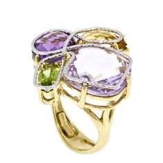 Ben Bridge multi-gemstone #ring