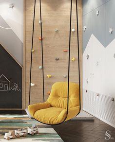 Room Design Bedroom, Kids Room Design, Home Room Design, Bedroom Decor, Kids Bedroom Designs, Playroom Design, Indoor Playroom, Cool Kids Bedrooms, Kid Spaces