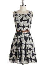 Graphic Gourmet Dress | Mod Retro Vintage Dresses | ModCloth.com