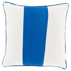 Linen Stripe Toss Pillow