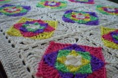 Optical Illusion Baby Blanket | AllFreeCrochet.com