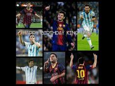 Happy Birthday Lionel Messi 27nd year I Happy Annivesary Lionel Messi