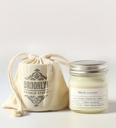 Mason Jar Scented Soy Candle by Brooklyn Candle Studio available at Scoutmob now. Mason Jar Candles, Diy Candles, Soy Wax Candles, Scented Candles, Candle Branding, Candle Packaging, Candle Labels, Essential Oil Candles, Candlemaking