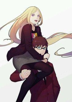 Bishamon and Kazuma | Noragami