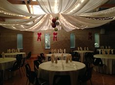 Holiday draping Draping, Seasonal Decor, Chandelier, Ceiling Lights, Curtains, Lighting, Holiday, Home Decor, Vacation