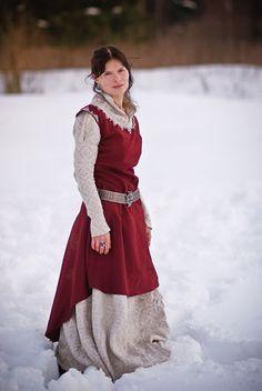 Elven dress by preraphaelitecouture forest maiden, fantasy, medieval