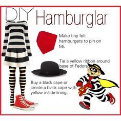 Here's my DIY Halloween costume. The Hamburglar  #Halloween #DIYHalloween #Contest