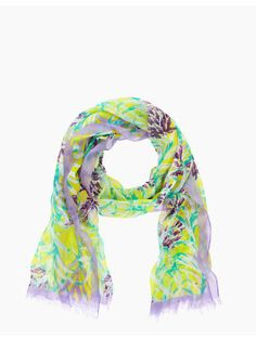 Kate Spade New York Ginger Floral scarf.