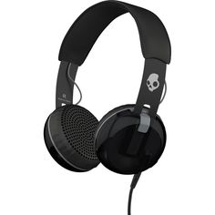 Skullcandy Grind Headphones (€56) ❤ liked on Polyvore featuring headphones, accessories, electronics, fillers and music