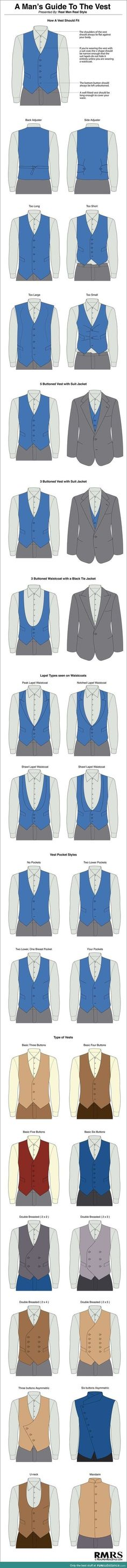 A man's guide to the vest
