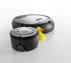 iRobot offers Scooba floor washing robots. I would like to have one of these for my future home- I hate mopping.