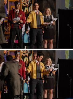 Stills from A VERY POTTER SENIOR YEAR with Darren Criss, Joey Ritcher and Evanna Lynch....................I CAN'T BREATHE!!!
