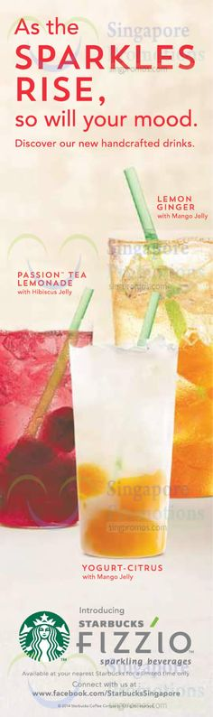 starbucks ad summer - Google Search Mango Jelly, Passion Tea Lemonade, Menu Book, Commercial Ads, Poster Designs, Iced Tea, Summer Drinks, Food Design, Starbucks