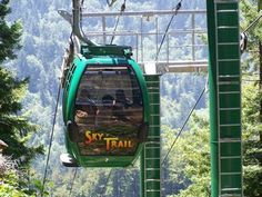 Sky Trail at the Trees of Mystery.  Located near Crescent City, California in th...