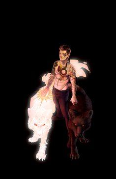 Magic stiles wolf derek Teen Wolf Sterek t Stiles Wolf Fantasy Creatures, Mythical Creatures, Character Inspiration, Character Art, Teen Wolf Fan Art, Teen Wolf Stiles, Teen Wolf Derek, Werewolf Art, Wolf Wallpaper