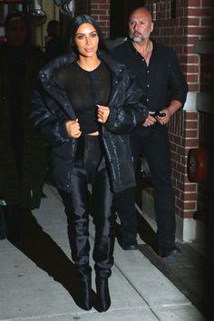 Kim Kardashian Night Out In New York - February 13, 2017