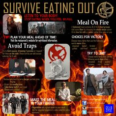 Hunger Games + Eating Out