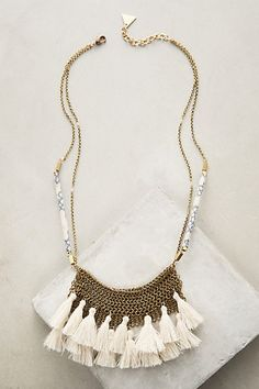 Camilla Bib Necklace #anthropologie