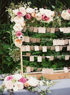 plan de table, mariage, fleurs, fleurs mariage, love sur la comète, blog mariage