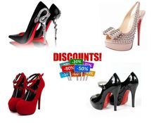 Now you can buy your favorite #RedBottomShoes with a heavy discount.