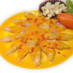 Ingredientes (porción para 2 personas): 2 filetes de pescado blanco (de preferencia lenguado) 1 cucharada de culantro picado bien fi...