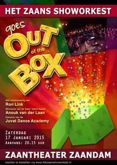 Zaans Show Orkest, out-of-the-box, 17 januari 2015