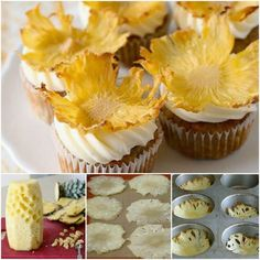 Dried pineapple recipe cake