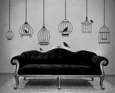 Home decor idea for your favourite Edgar Allen Poe fan.