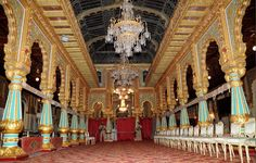 inside palaces - Google Search Mysore – Royal Palace Located in the Heart of India