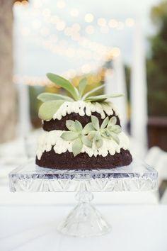 Non Traditional Wedding Cake
