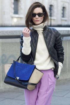 Quilted, colored, and cropped - see 40+ leather jackets we love and different ways to wear them