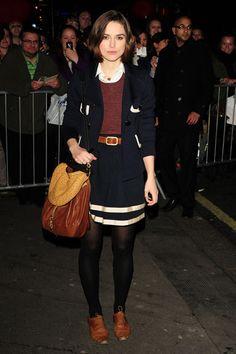 WHO: Keira Knightley  WORE: Miu Miu purse  WHERE: Leaving The Children's Hour  WHEN: March 22, 2011