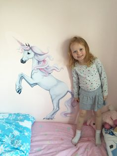 Unicorn Decal Unicorn wall decal Unicorn wall stickers Wall Stickers, Wall Decals, Unicorn Wall Decal, Kids And Parenting, Deco, Outfit, Handmade Gifts, Etsy, Vintage
