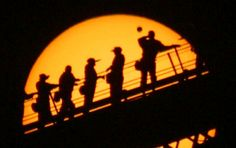 A creative image of the last Venus Transit, in 2004. Photo credit: David Finlay via spaceweather.com. Find a local observatory or astronomy club to get a glimpse of this afternoon's transit! http://sunearthday.nasa.gov/2012/about/event_locations.php
