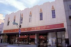 The Woolworth Walk in the old Woolworth Building in Asheville, NC.a privately and locally owned gallery in the heart of downtown Asheville.View and buy local artists' work Downtown Asheville Nc, Asheville North Carolina, Western North Carolina, North Carolina Mountains, Woolworth Building, Biltmore Estate, National Parks Usa, Celebrity Travel, Blue Ridge Mountains