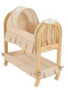 Eddie Bauer High chair & bassinet - $55 (Upstate NY)