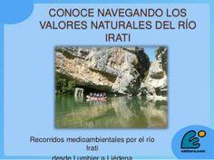 43  Conoce navegando los valores naturales del rio Irati by CongresoTurismoRural on Feb 28, 2014 5 views Ponencia a cargo de D. Mikel Sarobe, de Nattura, en el 5.º Congreso Internacional de Turismo Rural de Navarra