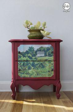 Karen Donnelly Hand-painted Landscape