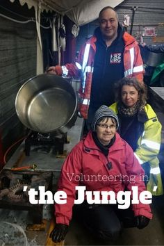 Volunteering with refugees in 'the Jungle' www.grassrootsnomad.com