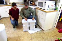 In this video, TOH general contractor Tom Silva explains how to add pull-out baskets, Lazy Susans, and more.