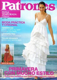 Mujeres y alfileres: Revista patrones Nº302 para descargar Sewing Hacks, Sewing Tutorials, Sewing Patterns, Sewing Tips, Pattern Making, Kids Outfits, Boho, Clothes For Women, Formal Dresses